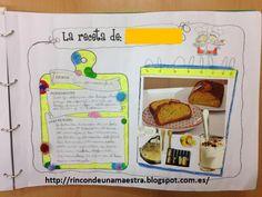 """Esta semana ha empezado a viajar nuestro """"Libro viajero de las recetas"""". Cada clase de 1º ha creado el suyo y, ¡mirad qué bonito el resultad..."""