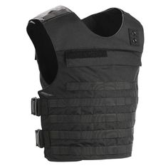 molle police vest with badge tab