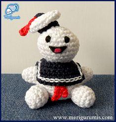 Ghostbusters Amigurumi Pattern : Crochet Other (than clothing) on Pinterest Amigurumi ...