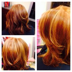 Double Process Color/ KeratimSmoothingTreament/ Layered Haircut