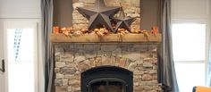 reclaimed wood mantels | Reclaimed Antique Rough Sawn Beam Fireplace Mantle