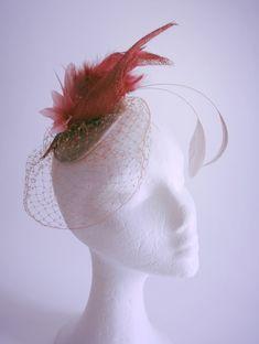 Artesanales 10 Tarjetas De Rayas Top Elegante plumas pequeñas Tortas-F16 tocados sombreros