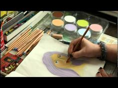 * Anleitung - Art Journal Page mit PanPastels *