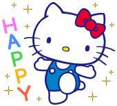 Hello Kitty Backgrounds, Hello Kitty Wallpaper, Hello Kitty My Melody, Sanrio Hello Kitty, Cartoon Gifs, Cute Cartoon, Star Gif, Hello Kitty Clothes, Hello Kitty Images