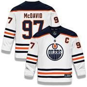 #Valentines #AdoreWe #Shop.NHL.com - #Fanatics Branded Youth Edmonton Oilers Connor McDavid Fanatics Branded White Replica Player Jersey - AdoreWe.com Connor Mcdavid, Edmonton Oilers, Christmas Sale, Nhl, Youth, Valentines, Style Inspiration, Fashion Design, Outfits