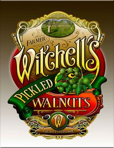 Witchell's Pickled Walnuts « David Smith – Traditional Ornamental Glass Artist