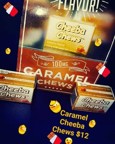 Carmel Cheeba chews are a hybrid it has 94mg of THC,5MG of CBD, and 1MG of CBN
