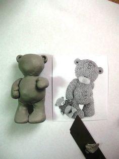 Мишка Тедди - Все о полимерной глине