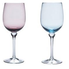 Ariana Water Glass Aqua from Abbey Party Rents SF