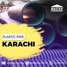 We are leading company for the Plastic Pipe in Karachi. We are best supplier of Karachi for Plastic Pipe. For more details visit our site.