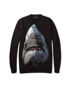 Givenchy's shark sweatshirt. For him, but perfect for her.