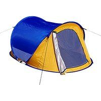 Today's Deals Generic Water-resistant Family 2 Person Tent Blue sale