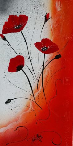 Peinture acrylique sur toile 20x60  By Raffin Christine  Facebook : L'étoile de Chris
