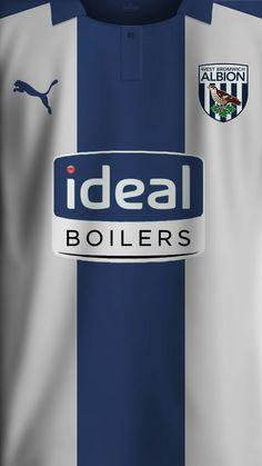 Soccer Kits, Football Kits, Sport Football, Football Jerseys, Football Players, West Brom Wallpaper, Ideal Boilers, West Bromwich Albion Fc, Soccer Uniforms