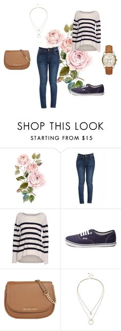 """""""errands"""" by lotsolove-1 on Polyvore featuring Velvet by Graham & Spencer, Vans, MICHAEL Michael Kors, Sole Society, Michael Kors, women's clothing, women, female, woman and misses"""