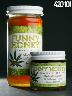 Funny Honey - Medical marijuana product.