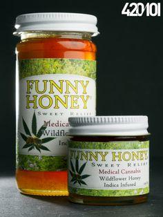 Funny Honey - Medical marijuana product.