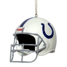 NFL Indianapolis Colts 3 Inch Helmet Ornament ** Read more  at the image link.