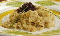 risoto de palmito - 198 calorias por porção