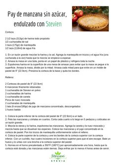 Stevia, Cheesecakes, Lemon, Healthy Recipes, Food, Cookie Cakes, Desserts For Diabetics, Cold Desserts, Easy Food Recipes
