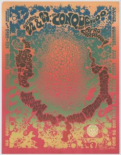 1970's psychedelic rock posters