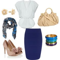 Blue, created by lludmila-pujols on Polyvore