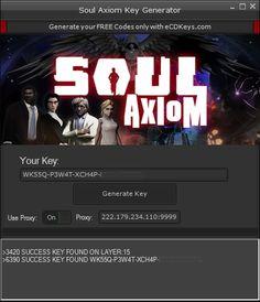New Soul Axiom CD-Key download updated. Soul Axiom CD-Key 2016 download tool. Free download of Soul Axiom CD-Key.