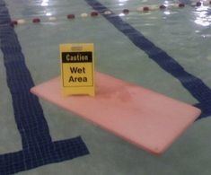 The janitorial staff at this pool: | 21 People With A Healthy Sense Of Perspective