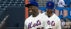 50 Cent May Have Just Thrown the Worst First Pitch Ever....but at least he handled himself with Grace!!