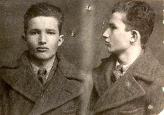 Mug shot of Nicolae Ceausescu.