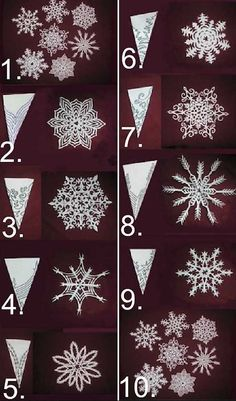 - Christmas DIY: Knackende Weihnachtsdekoration zum Selbermachen – Weihnachten DIY Dekor: Hausgemachte Schneeflocken – Bien que le vieux dicton Diy Christmas Snowflakes, Snowflake Craft, Homemade Christmas Decorations, Snowflake Decorations, Christmas Crafts, Paper Snowflakes, Christmas Tree, Diy Décoration, Diy Crafts