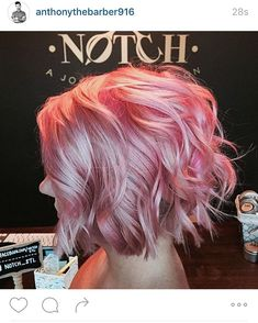 Totally over the moon to have been featured by 💗💗💗 I can't believe he picked something from my very much still growing… Hair Color And Cut, Cool Hair Color, Pastel Hair, Pink Hair, Rose Gold Hair, Gorgeous Hair, Pretty Hair, Dream Hair, Rainbow Hair