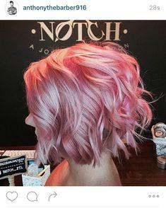 Pink bob Mais