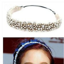 Bling Jewelry Accessories Shinning Women Rhinestone Headband Fashion Hair