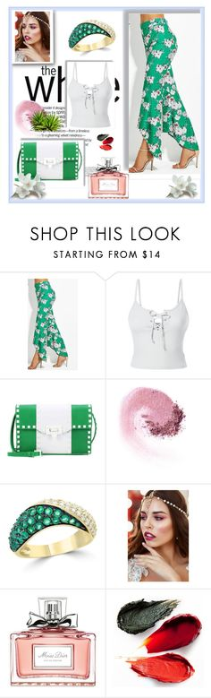 """""""// Summer look  //"""" by mirandamiler-890 ❤ liked on Polyvore featuring LE3NO, Valentino, Bloomingdale's, Christian Dior and Rituel de Fille"""