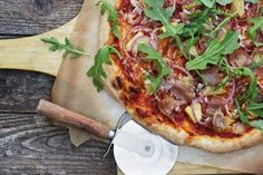 Grilled Pineapple, Prosciutto and Piave Pizza - Seasons and Suppers