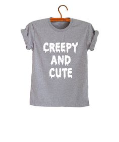 Creepy mignon T-Shirt homme Hipster Tee Shirt Geek par FrogTee