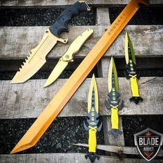 Yellow gold assassin set