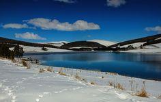 Snowy Day - Pinned by Mak Khalaf Landscapes  by HildaMurray