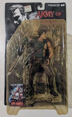 McFarlane Movie Maniacs Series 3 Army of Darkness Ash Action Figure Toy Corner, Series 3, Darkness, Ash, Action Figures, Toys, Movie Posters, Gray, Activity Toys