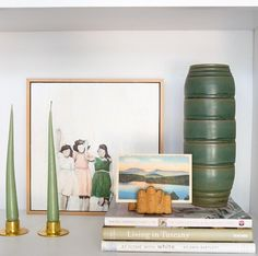 What Design People Are Doing On Instagram: Emily Henderson shares a glimpse into a bookshelf vignette. How do you #shelfie?