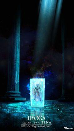 Cygnus no Hyoga - Saint Seiya Manga Anime, Art Anime, Knights Of The Zodiac, Emission Tv, Saints, Animation, Comic Games, Fantastic Art, Manga Comics