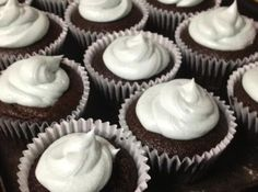 Moist Chocolate Cupcakes- Super Easy- Budget. Photo by corelila *These are crazy easy to make, and delicious, too!