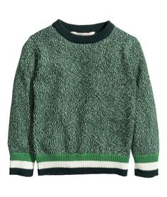 Melange Sweater |Product Detail | H&M US