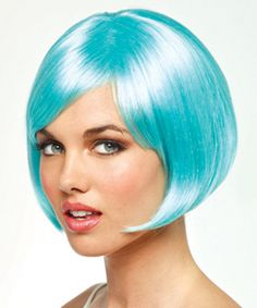 Flash by Revlon Wigs - Want to be more colorful?  This is the perfect wig to create a sassy 1920's look,  It also comes in Black which is great for an affordable Jordan from The Great Gatsby