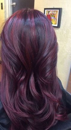 The Cherry Bombre is perfect for color newbies, even if you're a little nervous about making a change!