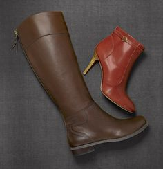 Give those sandals the boot... it's time for Fall!