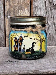 Halloween Mason Jars, Fall Halloween, Halloween Crafts, Halloween Ideas, Halloween Spells, Halloween Patterns, Halloween Stuff, Pot Mason, Mason Jar Diy