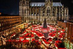 Christmas in Köln, Germany