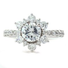 Hey, I found this really awesome Etsy listing at https://www.etsy.com/listing/201053931/snowflake-style-diamond-halo-engagement